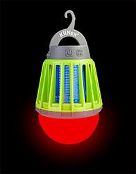 Мощный фонарь для кемпинга KILNEX «БЕЛЫЙ СВЕТ + RED 2600» (IP 67)