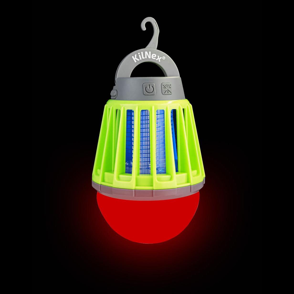 Ліхтар для кемпингу KILNEX «Білий світ + RED 2600» (IP 67)