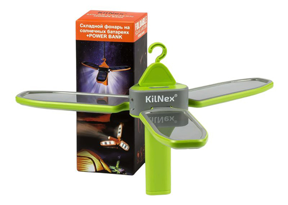 Ліхтар на сонячних батареях KILNEX «Пелюстки»